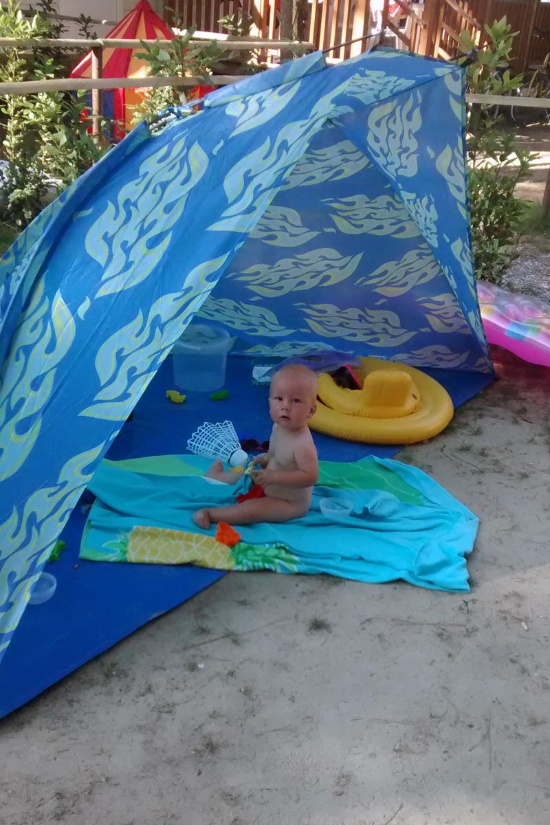 Персональная палатка.